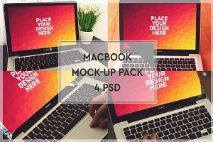 MacBook Mock-up Pack #2