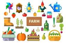 Farm in the village