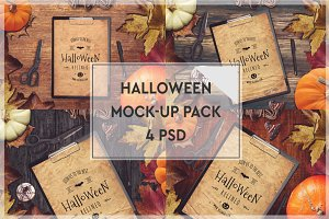 Halloween Mock-up Pack #1
