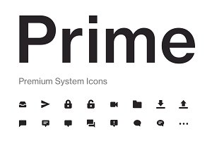 Prime - 200+ User Interface Icons