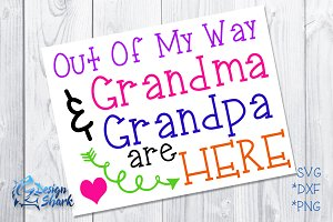 Out of my way Grandma & Grandpa