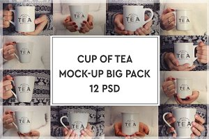 Cup of Tea Mock-up Bigpack