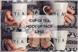 Cup of Tea Mock-up Pack#2