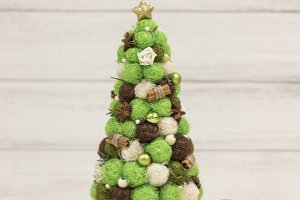 Christmas tree, decorative Christmas