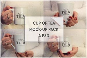Cup of Tea Mock-up Pack#1