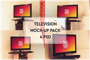 Televison Mock-up Pack#1