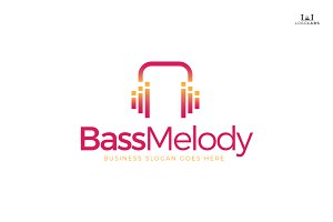 Bass Melody Logo