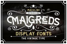 Maigreds Display Font