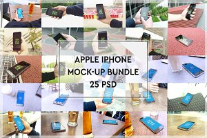 BUNDLE - 25 Iphone Mock-up