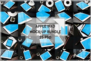 BUNDLE - 25 iPad Mock-up#3