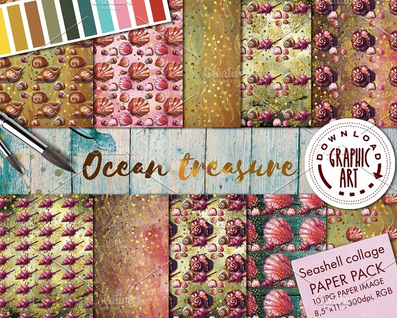 DIGITAL PAPER PATTERNS PACK