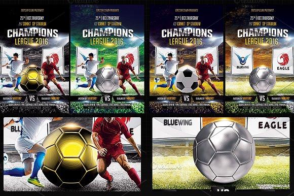 Soccer Flyer Template