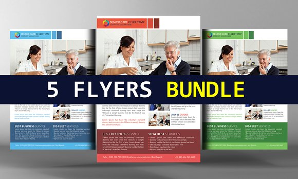 5 Agency Business Flyers Bundle