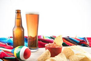 Cinco De Mayo Scene with Beer