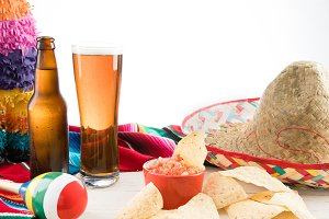 Cinco De Mayo with Beer