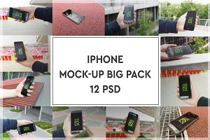 iPhone Mock-up Big Pack#3