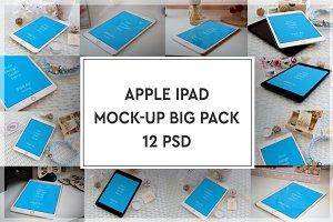 Apple iPad Mock-up Big Pack#3