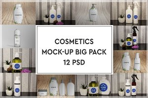 Cosmetics Mock-up Big Pack