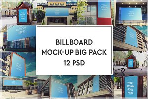 Billboard Mock-up Big Pack#1
