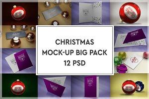 Christmas Mock-up Big Pack
