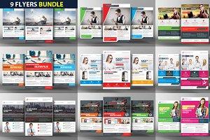 9 Corporate Business Flyer Bundle