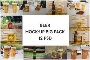 Beer Mock-up Big Pack#2