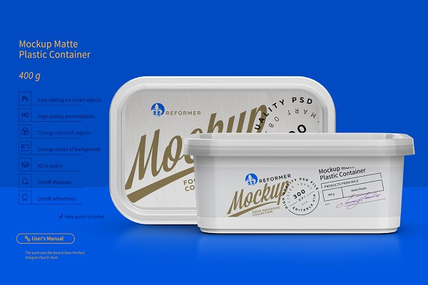 400g Plastic Container Mockup Psd Mockup 100 Mockup Pictures