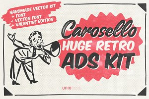 Carosello - Huge Retro Ads Kit