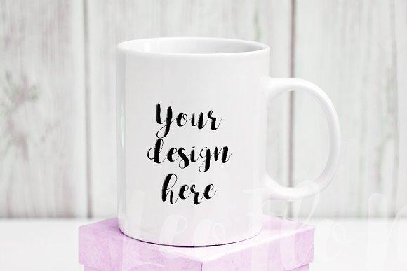 White Coffee Mug Mockup 11oz Psd Cup