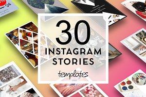 30 Instagram Stories templates