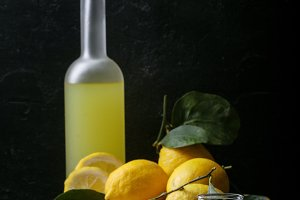 Home made Limoncello