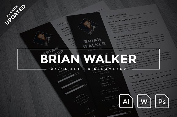 brian walker a4us resume resumes