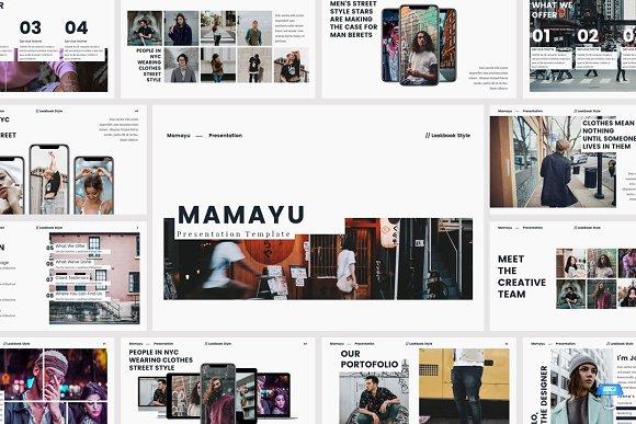 MAMAYU Lookbook Keynote Template