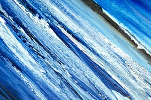 artista azul