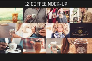 12 PSD Coffee Mug Mock-up