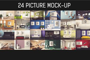 24 Picture Mock-up Bundle#1