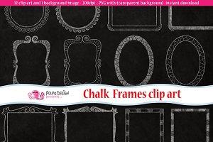 Chalkboard Frames clip art