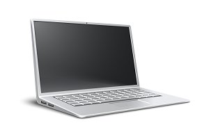 Laptop airbook ultrathin modern portable