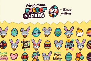Adorable Easter Icons