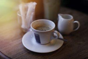 A sunny espresso