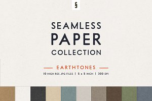 Earthtone Seamless Paper Backgrounds