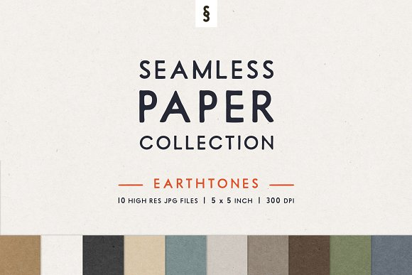 Earthtone Seamless Paper Backgrounds