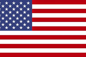 Flag of the USA, texturised