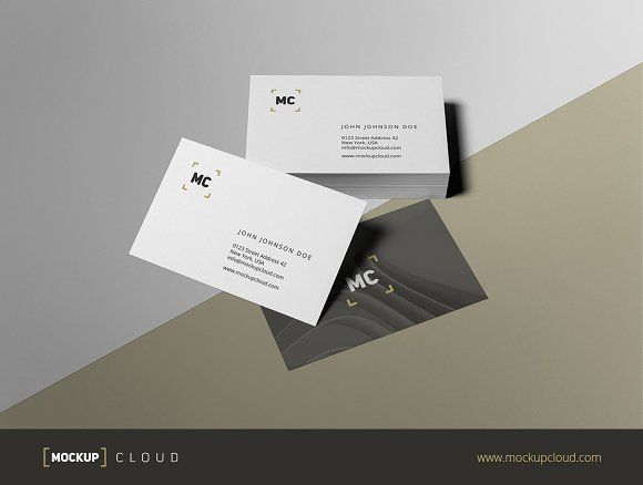 Business Stationery / Mock-Up in Product Mockups - product preview 4
