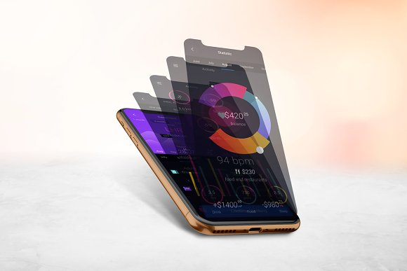 IPhone X Mockup V.3