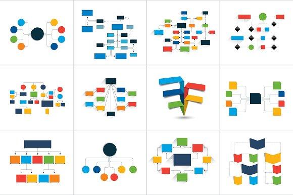 Fowcharts Schemes Diagrams