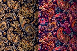 2 Bright Paisley Patterns
