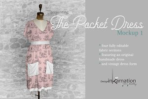 Pocket Dress Mockup