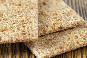 thin dry bread