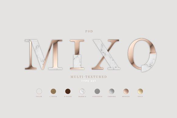 MIXO Type Kit
